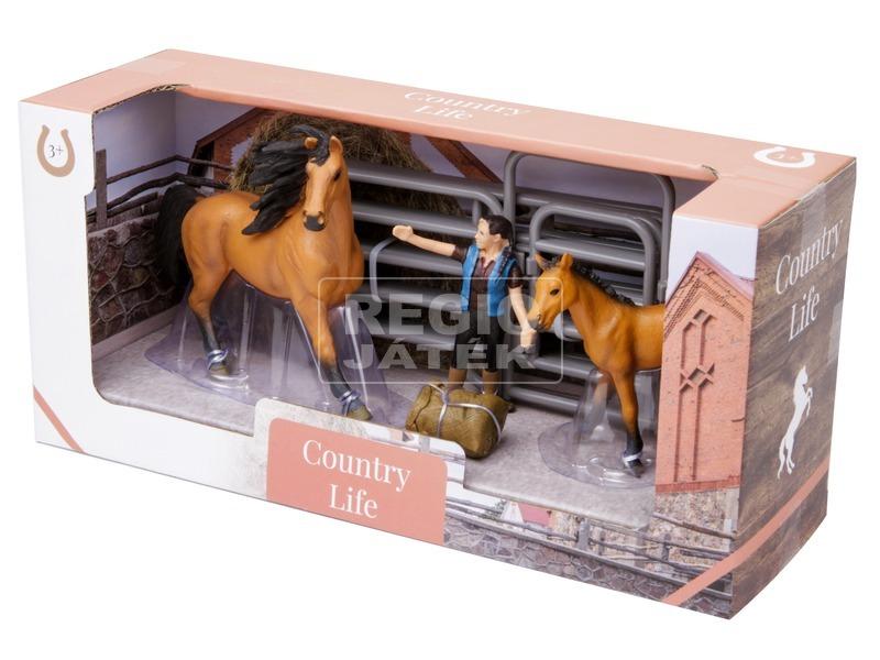 Ló figura készlet - nagy, többféle