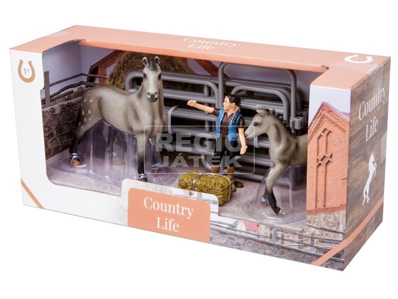 kép nagyítása Ló figura készlet - nagy, többféle