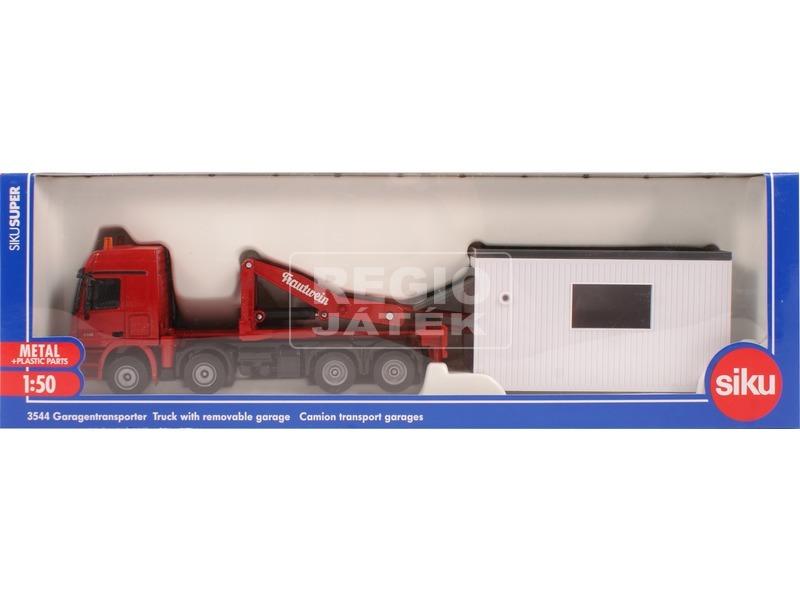 Teherautó mozgatható konténerrel