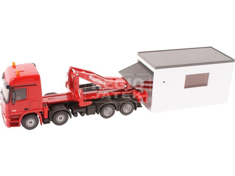 kép nagyítása SIKU Mercedes konténeres teherautó 1:50 - 3544