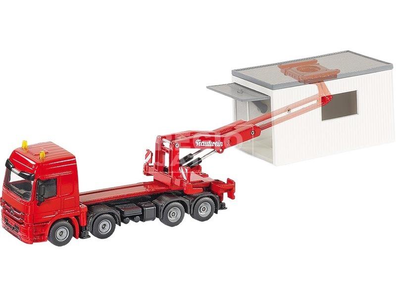 kép nagyítása Teherautó mozgatható konténerrel