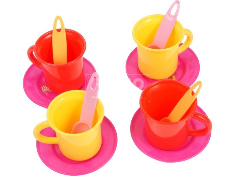 kép nagyítása Teadélután 19 darabos készlet teáskannában