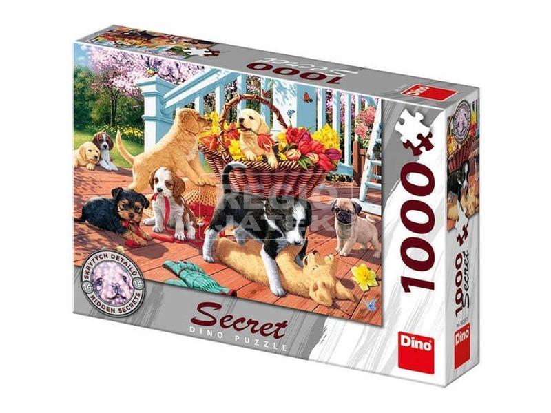 Kutyusok 1000 darabos puzzle