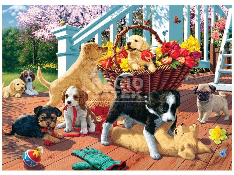 kép nagyítása Kutyusok 1000 darabos puzzle