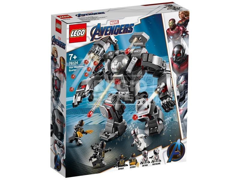 LEGO® Super Heroes Hadigép romboló 76124