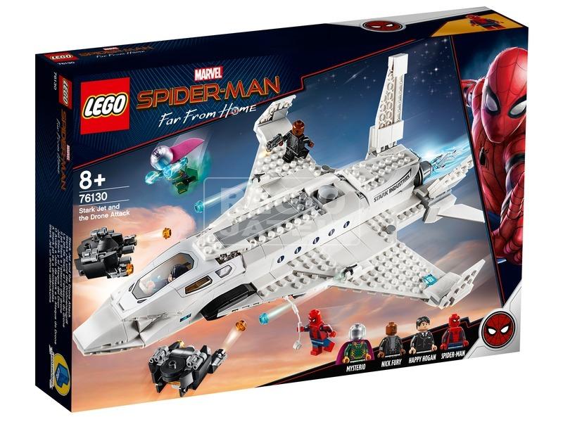 LEGO® Super Heroes Stark jet és dróntámadás 76130