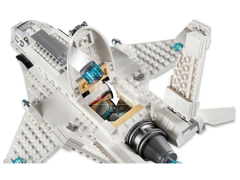 kép nagyítása LEGO® Super Heroes Stark jet és dróntámadás 76130
