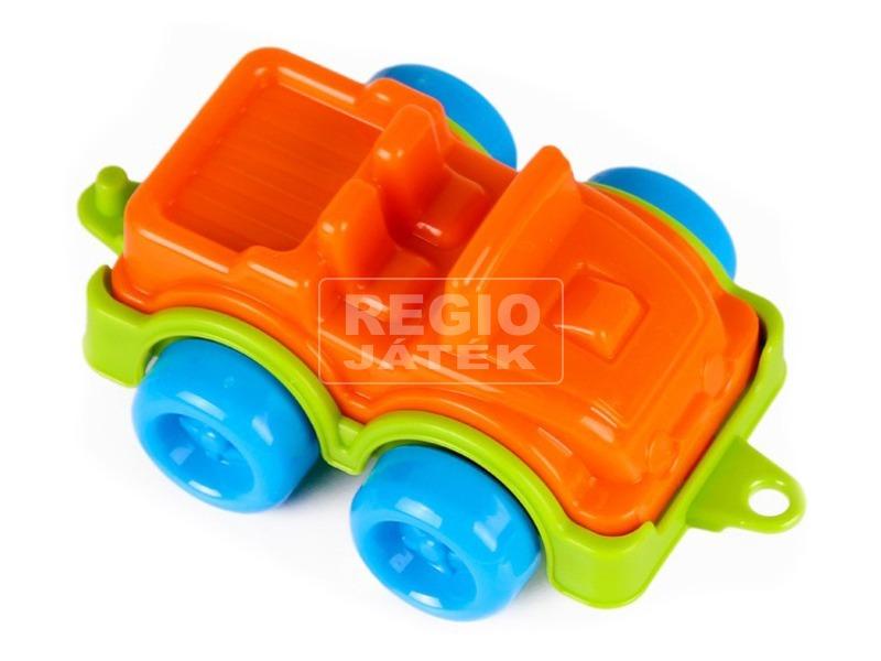 kép nagyítása Műanyag terepjáró - narancssárga, 11 cm