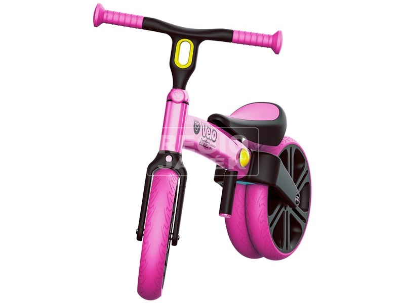 kép nagyítása Y Velo Junior futóbicikli - rózsaszín, 45 cm