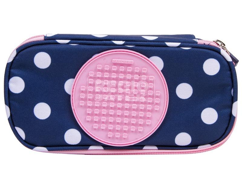 kép nagyítása Pixie toltartó kék-rózsaszín pöttyös
