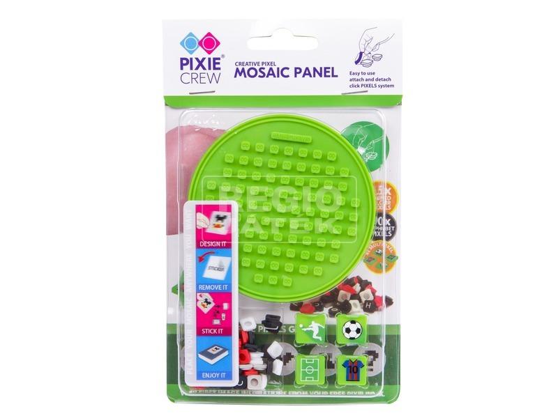 Pixie kerek mozaiklap - zöld