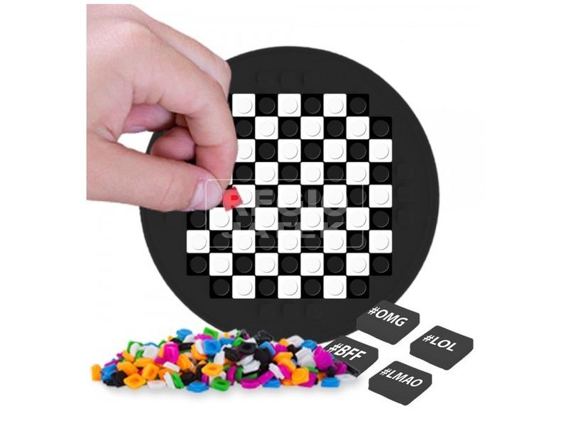 kép nagyítása Pixie kerek mozaiklap - fekete
