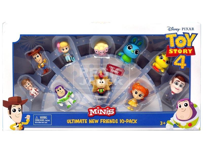 Toy Story 4 figura 10 darabos készlet - 5 cm