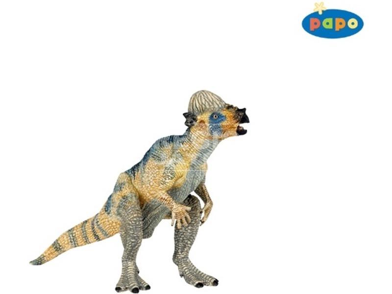 Papo fiatal pachycephalosarus figura