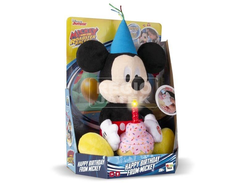 Mickey egér Boldog szülinapot plüssfigura - 29 cm