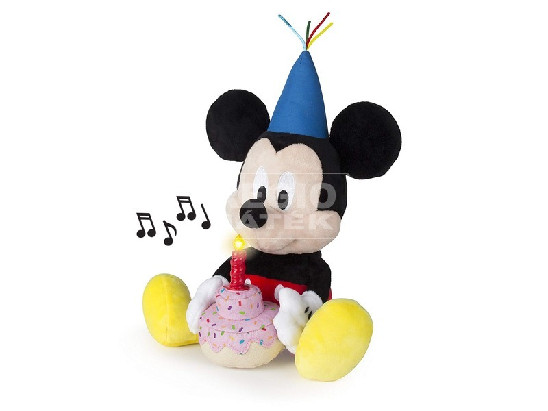 kép nagyítása Mickey egér Boldog szülinapot plüssfigura - 29 cm
