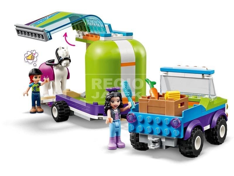 kép nagyítása LEGO® Friends Mia lószállító utánfutója 41371