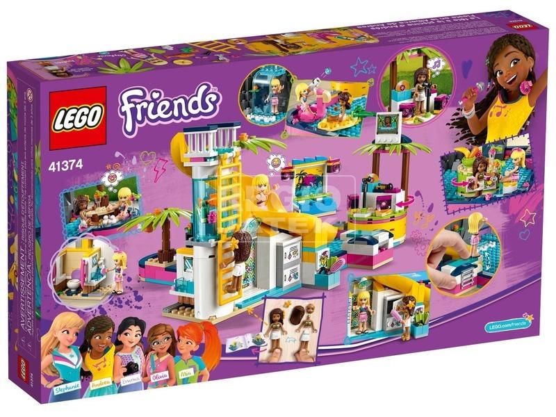 kép nagyítása LEGO® Friends Andrea medencés partija 41374