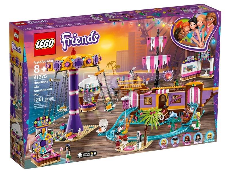 LEGO® Friends Tengerparti vidámpark 41375