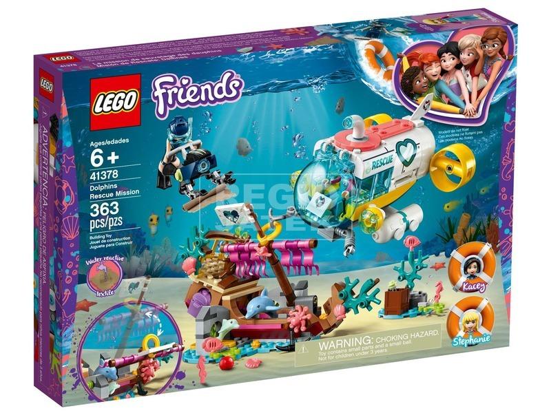 LEGO® Friends Delfin mentőakció 41378