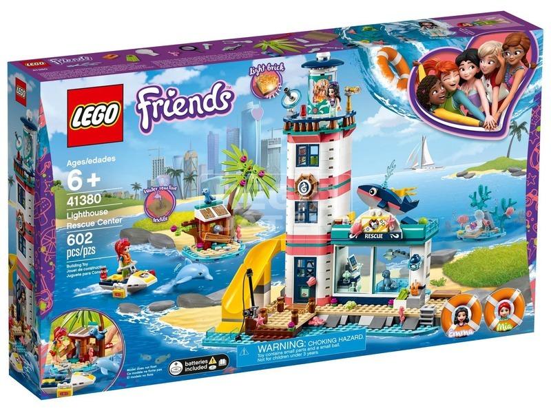 LEGO® Friends Világítótorony mentőközpont 41380