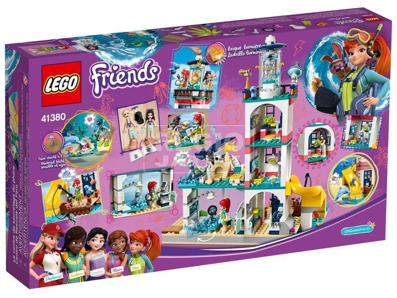 kép nagyítása LEGO® Friends Világítótorony mentőközpont 41380