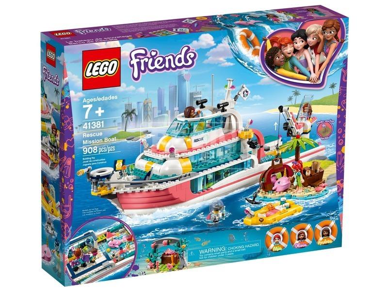 LEGO® Friends Mentőhajó 41381