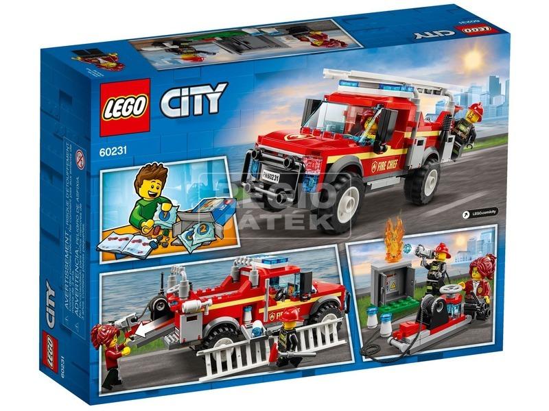 kép nagyítása LEGO® City Tűzoltó-parancsnoki rohamkocsi 60231