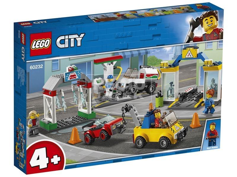 LEGO® City központi garázs 60232