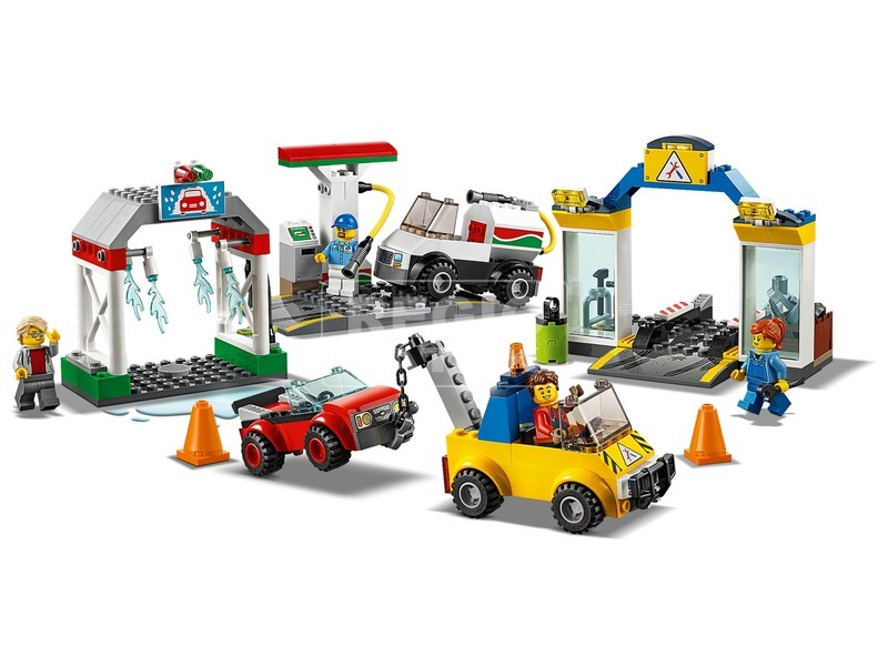 kép nagyítása LEGO® City központi garázs 60232