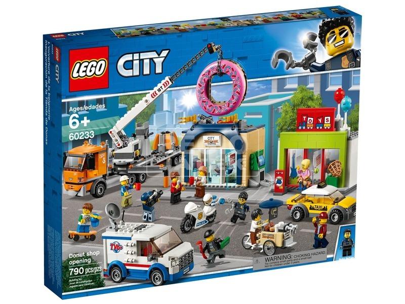 LEGO® City Fánkozó megnyitó 60233