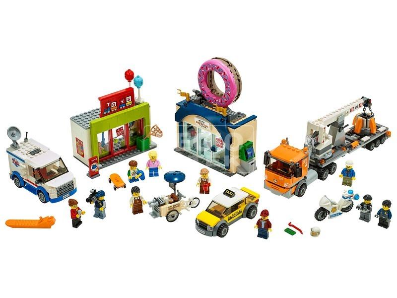 kép nagyítása LEGO® City Fánkozó megnyitó 60233