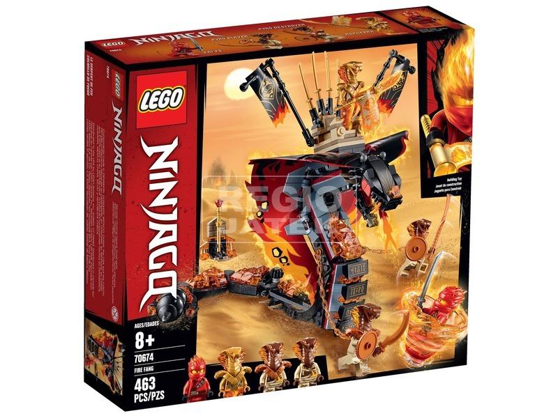 LEGO® Ninjago Tüzes Agyar 70674