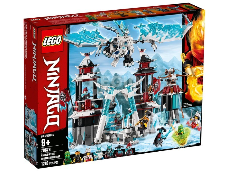 LEGO® Ninjago A cserbenhagyott császár vára 70678