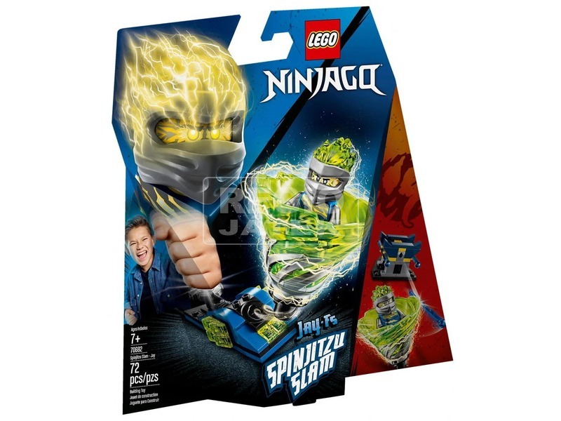 LEGO® Ninjago Spinjitzu csapás Jay 70682