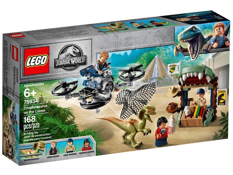 LEGO® Jurassic World Dilophosaurus támadás 75934