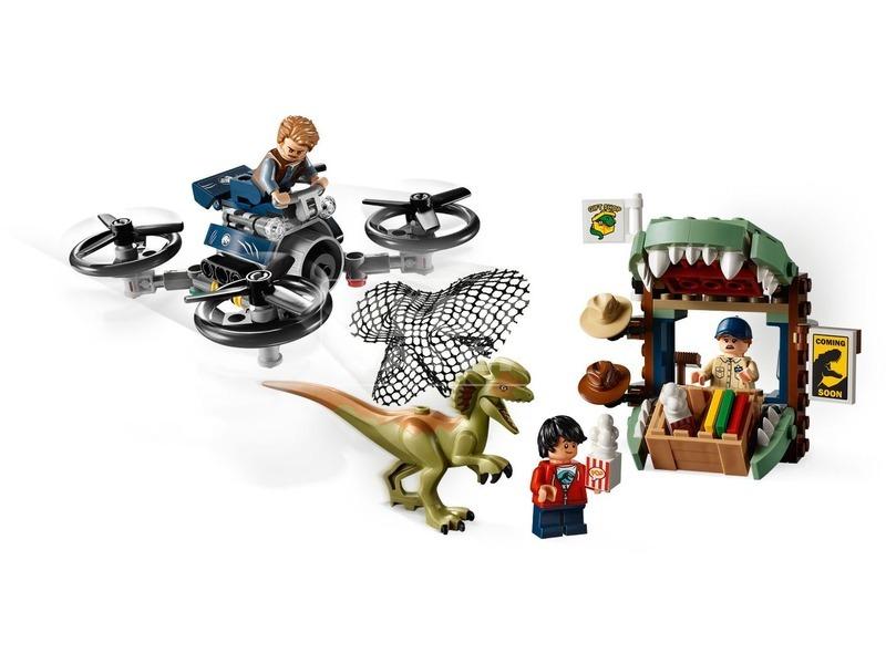 kép nagyítása LEGO® Jurassic World Dilophosaurus támadás 75934
