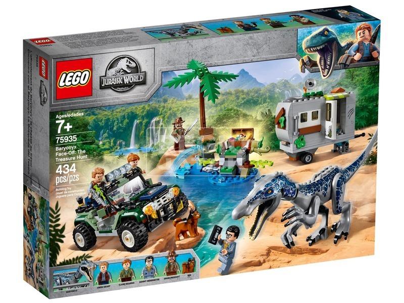 LEGO® Jurassic World Baryonyx bonyodalom 75935