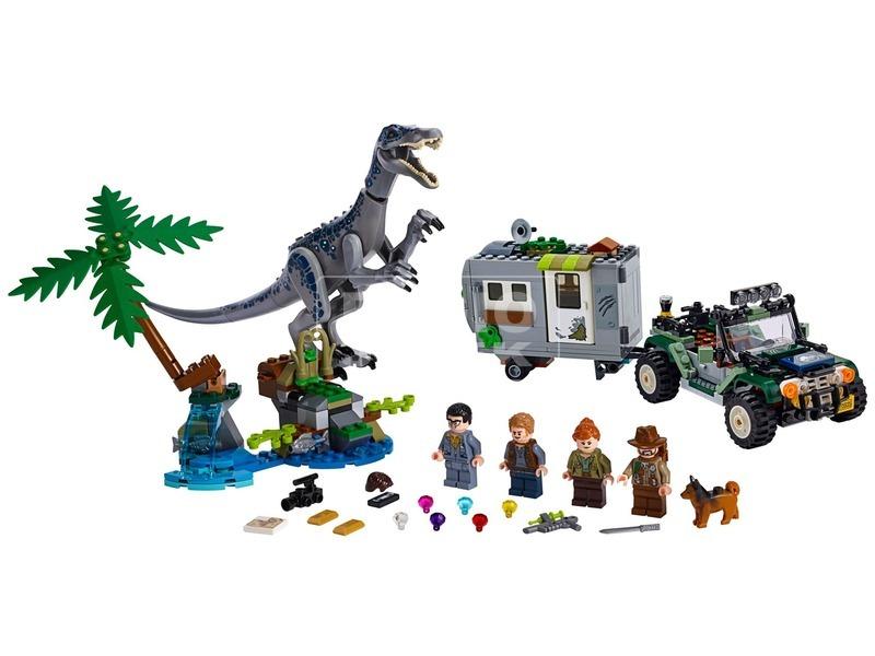 kép nagyítása LEGO® Jurassic World Baryonyx bonyodalom 75935