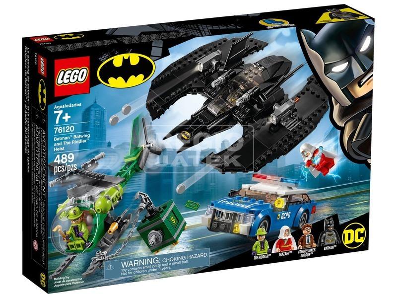 LEGO® Super Heroes Denevérszárny és Rébusz 76120
