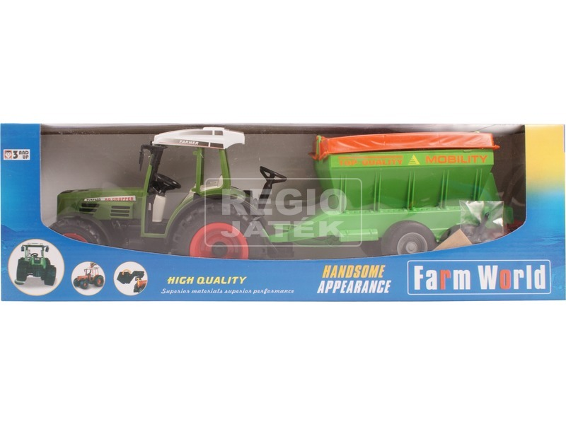 Farm World traktor gabonaszállítóval - 43 cm