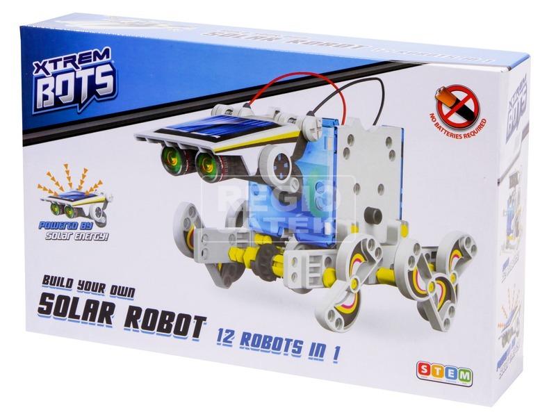 Építs napelemes robotokat 12IN1