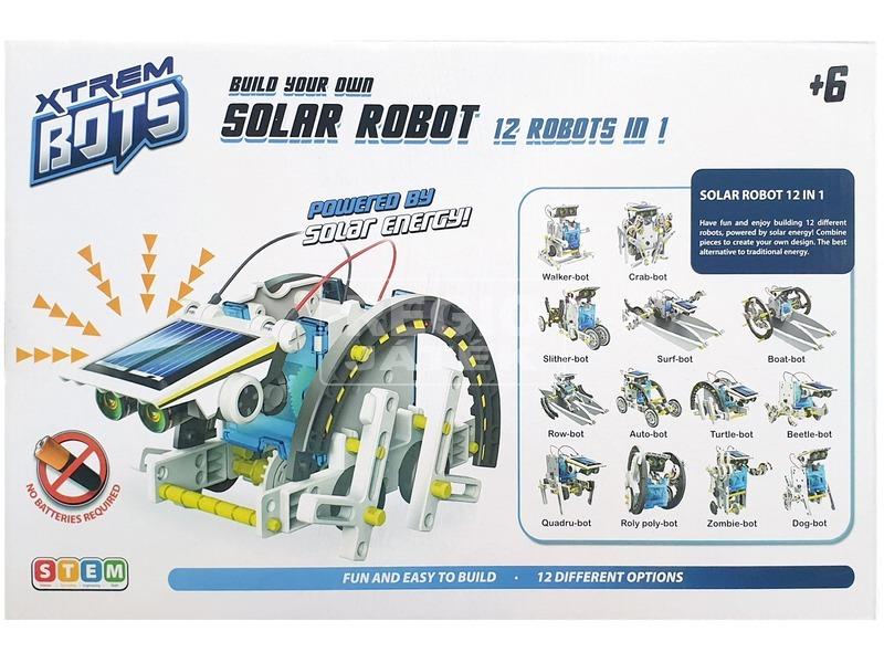 kép nagyítása Építs napelemes robotokat 12IN1