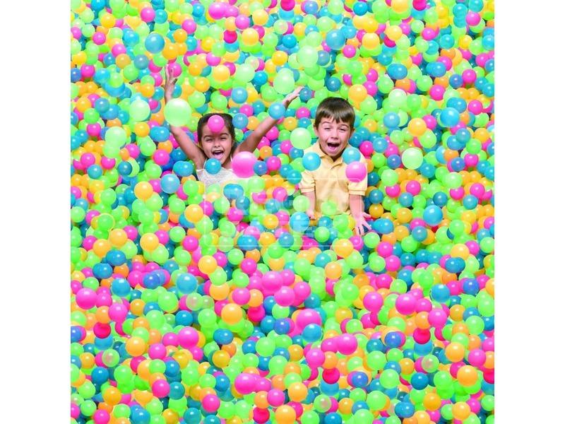 kép nagyítása Bestway 52027 Színes labda 100 darabos - 6, 5 cm