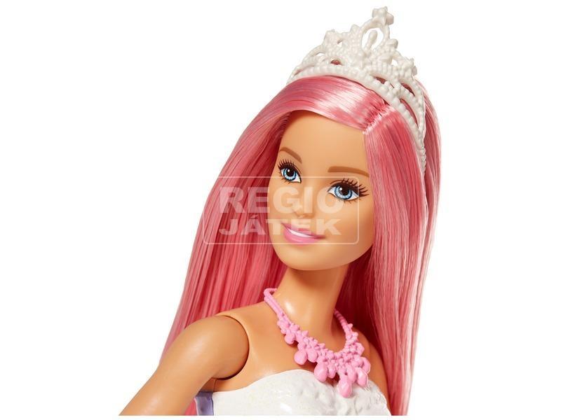 kép nagyítása Barbie Dreamtopia csillámfény unikornis babával