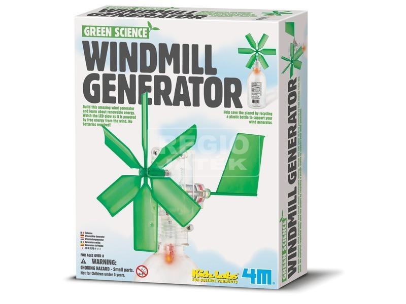 4M szélmalom áramfejlesztő készlet
