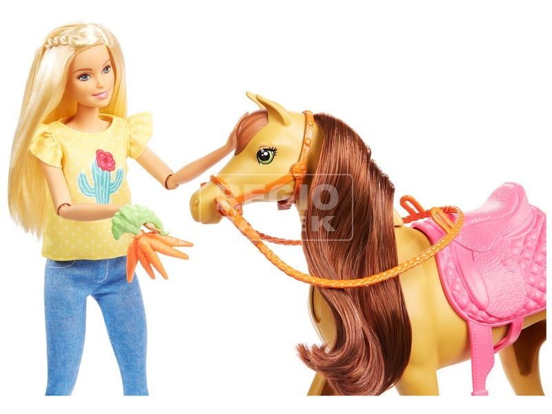 kép nagyítása Barbie lovarda játékszett