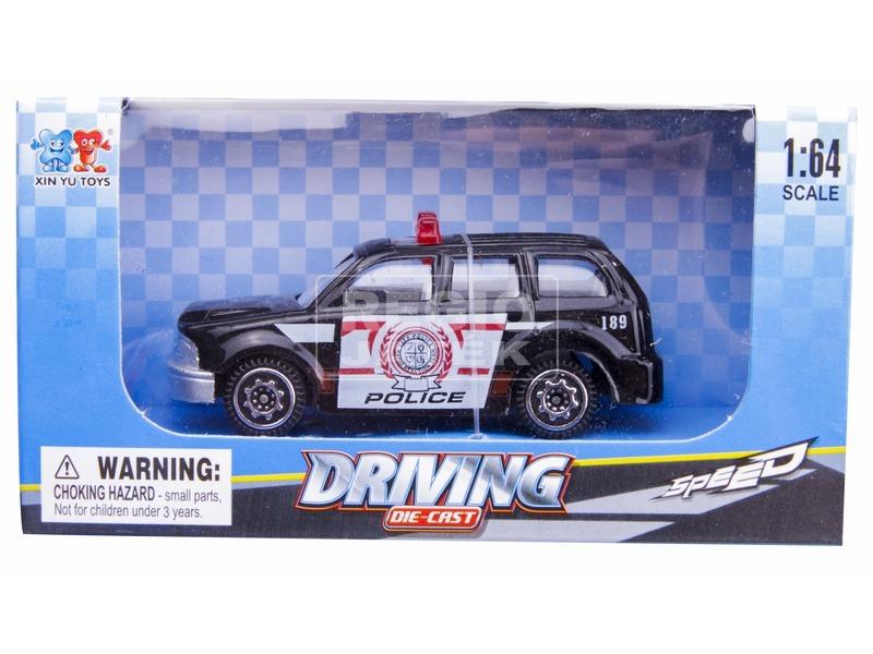 Die-Cast Driving - Fém kisautó, 1:64 modell