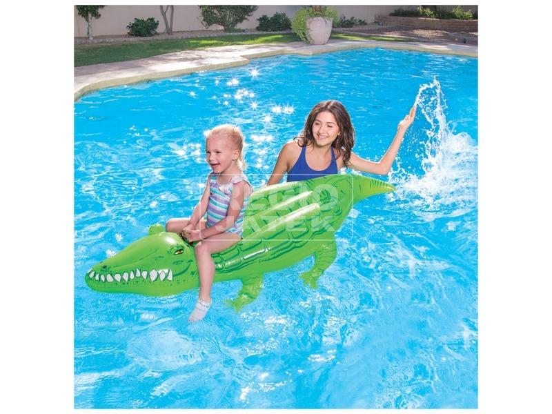 kép nagyítása Bestway 41010 Krokodil hullámlovagló - 168 x 89 cm