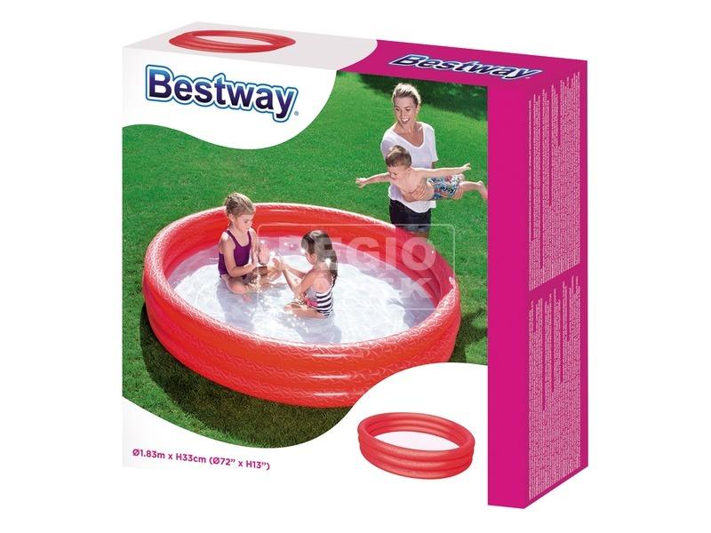 Bestway 51027 Gyűrűs medence 183 x 33 cm, többféle